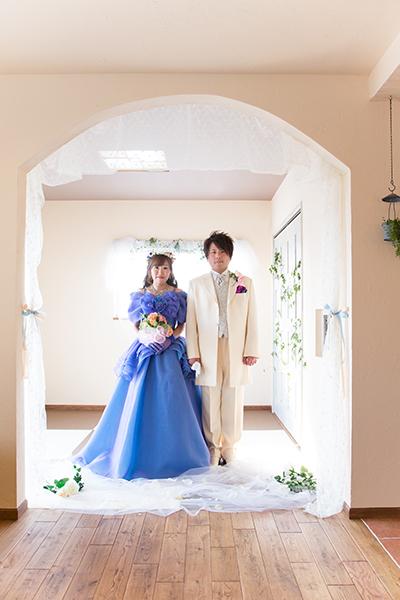 おうちスタジオ 色ドレス1