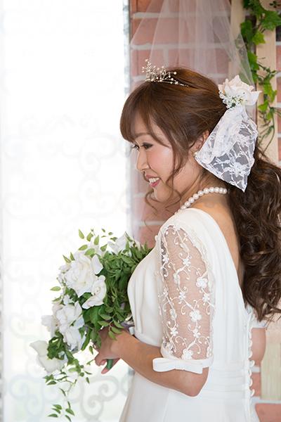 おうちスタジオ 白ドレス3