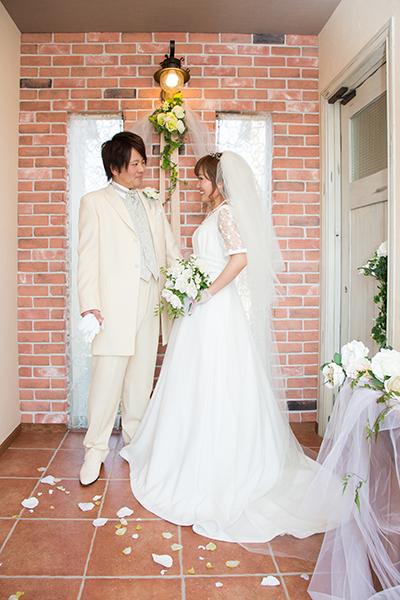 おうちスタジオ 白ドレス1
